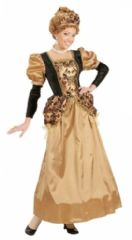 Gold Medieval Queen Costume